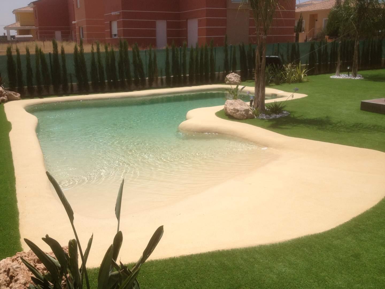 Expertos piscinas de arena spas jacuzzis - Precio piscinas de arena ...