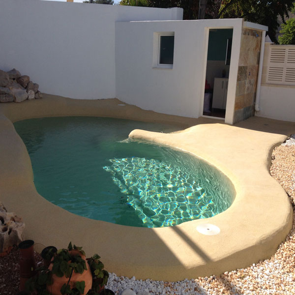 Construir piscinas de arena grupo aquarea for Como hacer una piscina economica