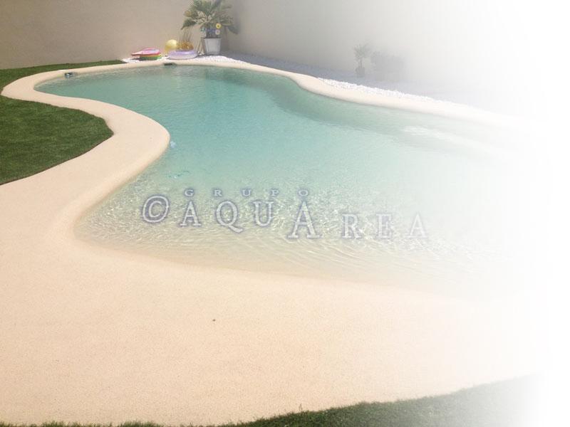 construir piscinas de arena