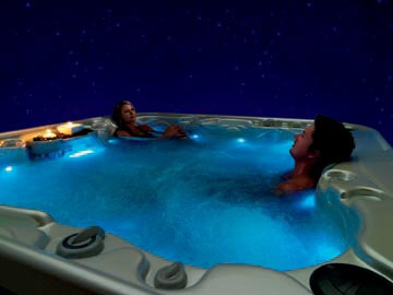 Madrid Spa Jacuzzi con cromoterapia