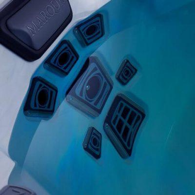 Detalle chorros hidromasaje Spa V94 Vector Aquarea