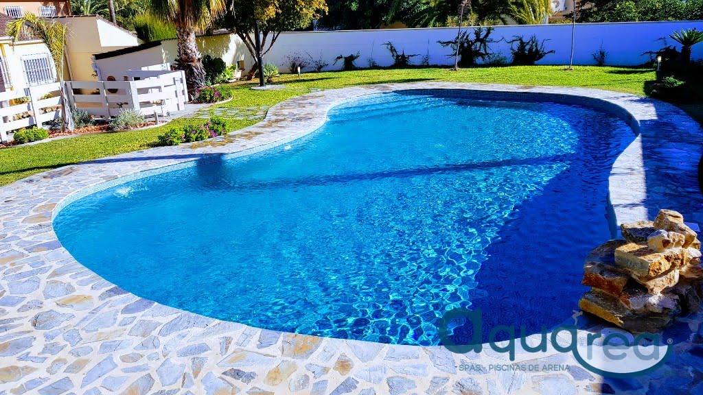 Piscinas con gresite verde simple piscinas con gresite for Gresite para piscinas