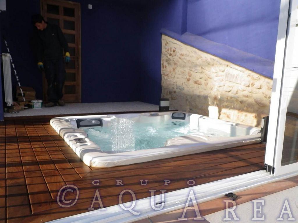 Spa Jacuzzi Enterrado Valencia Instalación